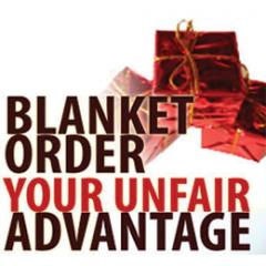 Blanket order